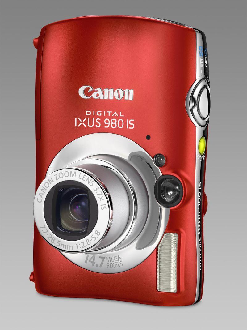 Digital IXUS 980 IS RED FSL VERT 2