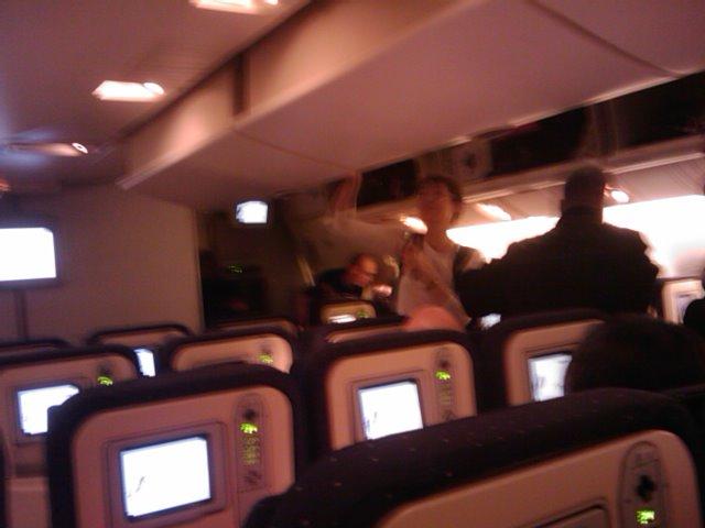 Ah un vol eco de 12h sur airfrance