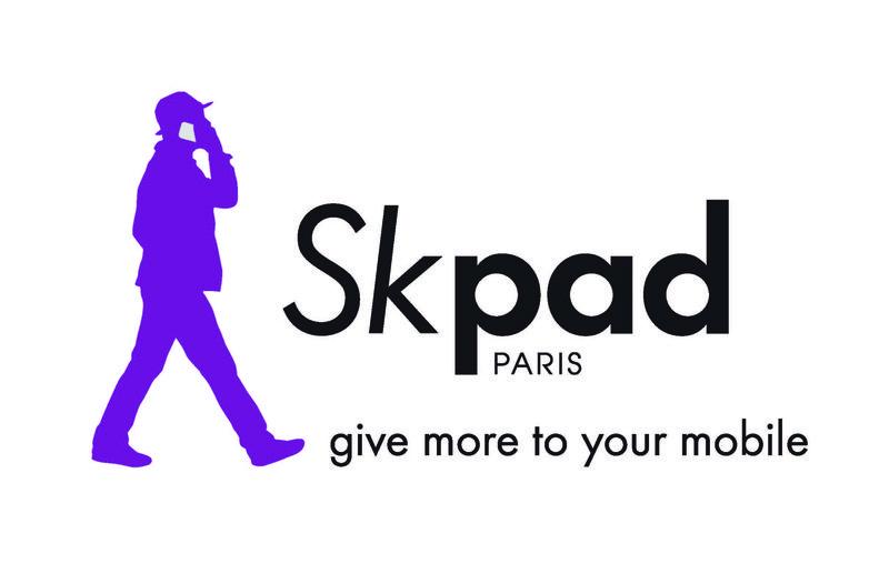 Skpad - Logo with man (high def)