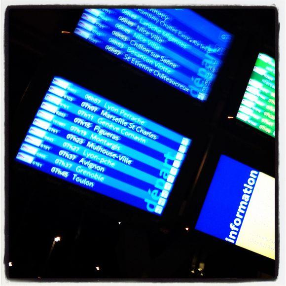 En route pour Genève avec HP