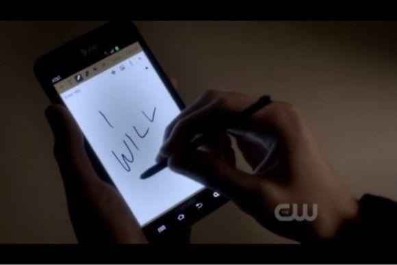 Les vampires ont un Galaxy Notes