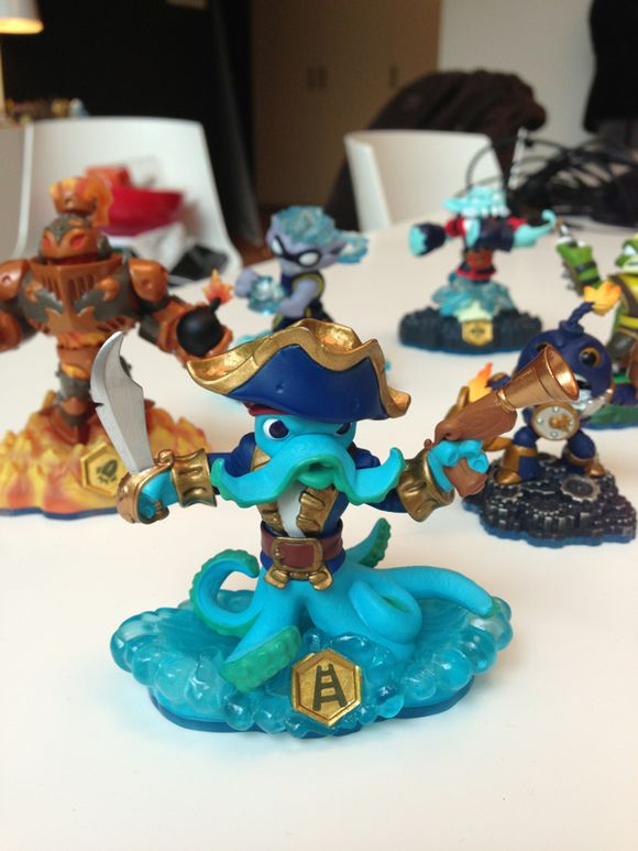 Skylanders Swap Force : les figurines