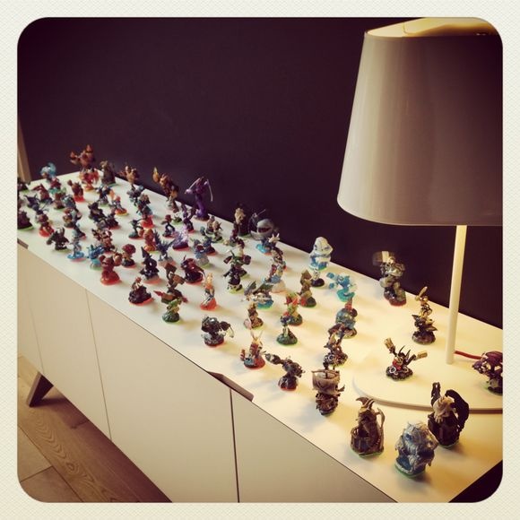 Skylanders Swap Force lounge